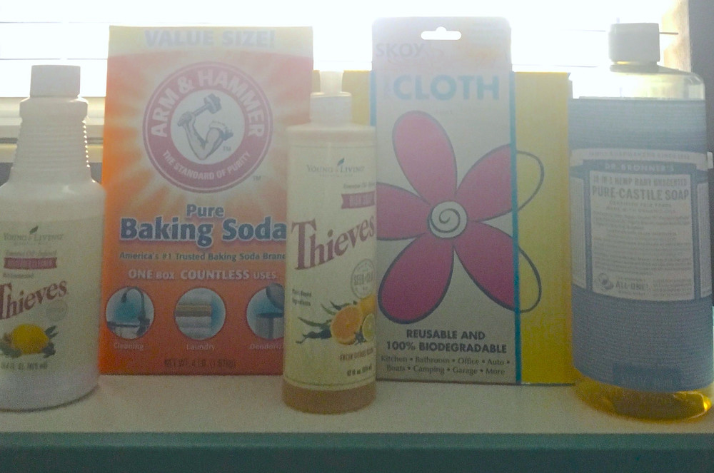 Heather Bahorich's Recommended Products: Skoy, Arm & Hammer, Thieves, Dr. Bronner's