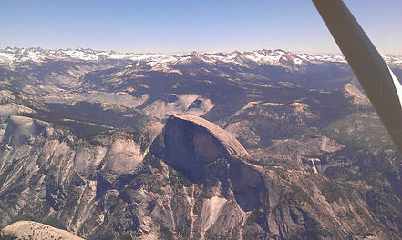 Halfdome-Never before scene from the Air