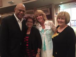 Michael Harris & wife, Rina and Karen