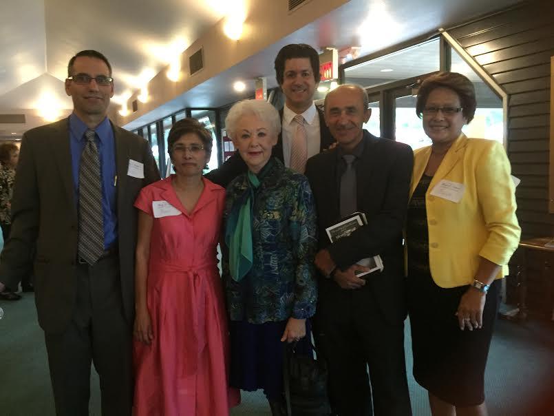 Rod & Mary, Dr. Taylor, Grant, Jaime & Rina