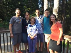 Sandra & Team w Rod & Mary