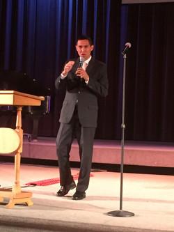 Taj Pacleb Preaching