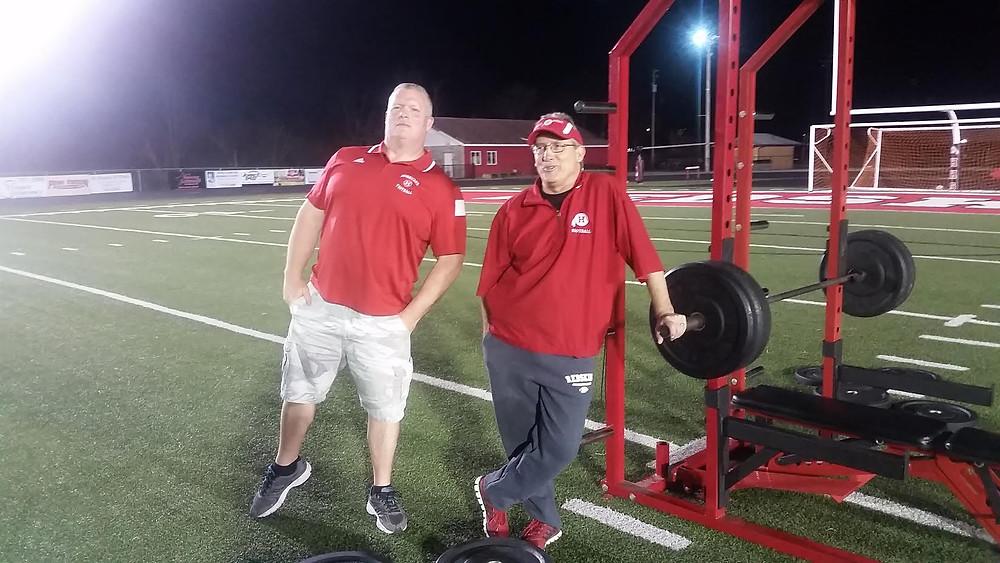 Coach Jullian and Leadman