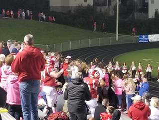 Johnson's Parkersburg too much for Redskins 38-14