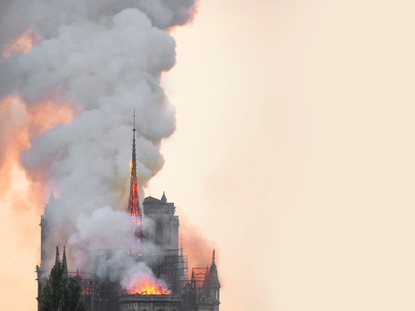 Burning Steeples