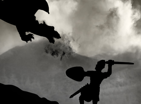 Dragons, Magic and God