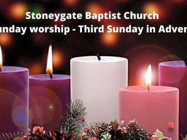 Sunday Worship 13 December