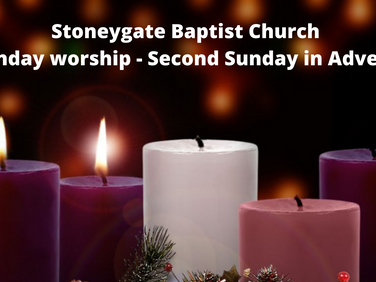 Sunday Worship 6 December