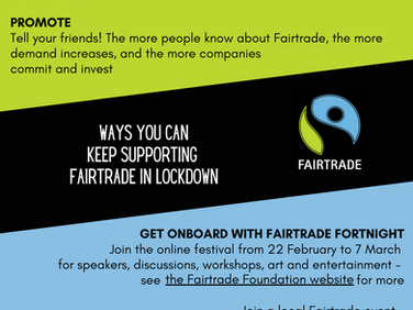 Supporting Fairtrade