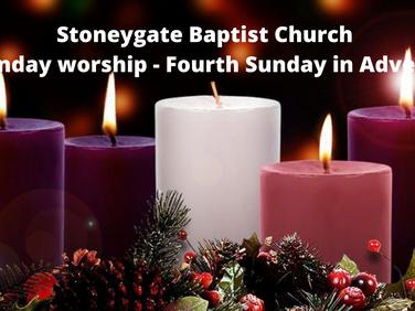 Sunday Worship 20 December