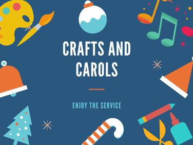 Crafts and Carols
