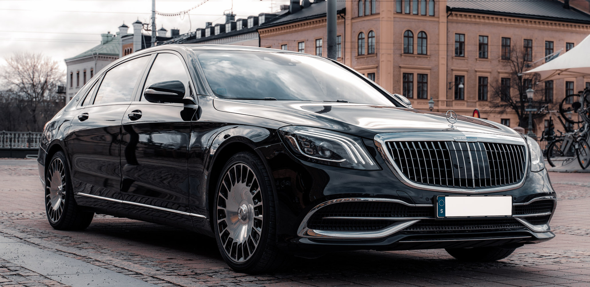 Private Chauffeur - Mr Charles - Maybach