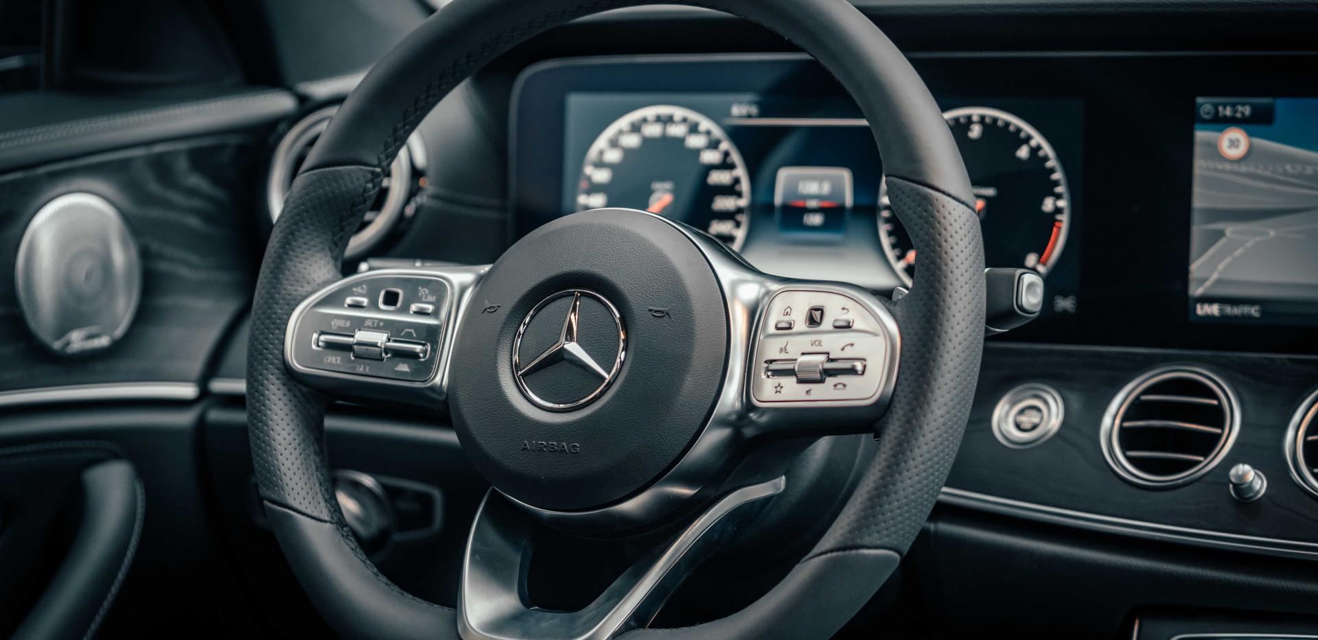 Private Chauffeur Mr Charles - Mercedes E-Class