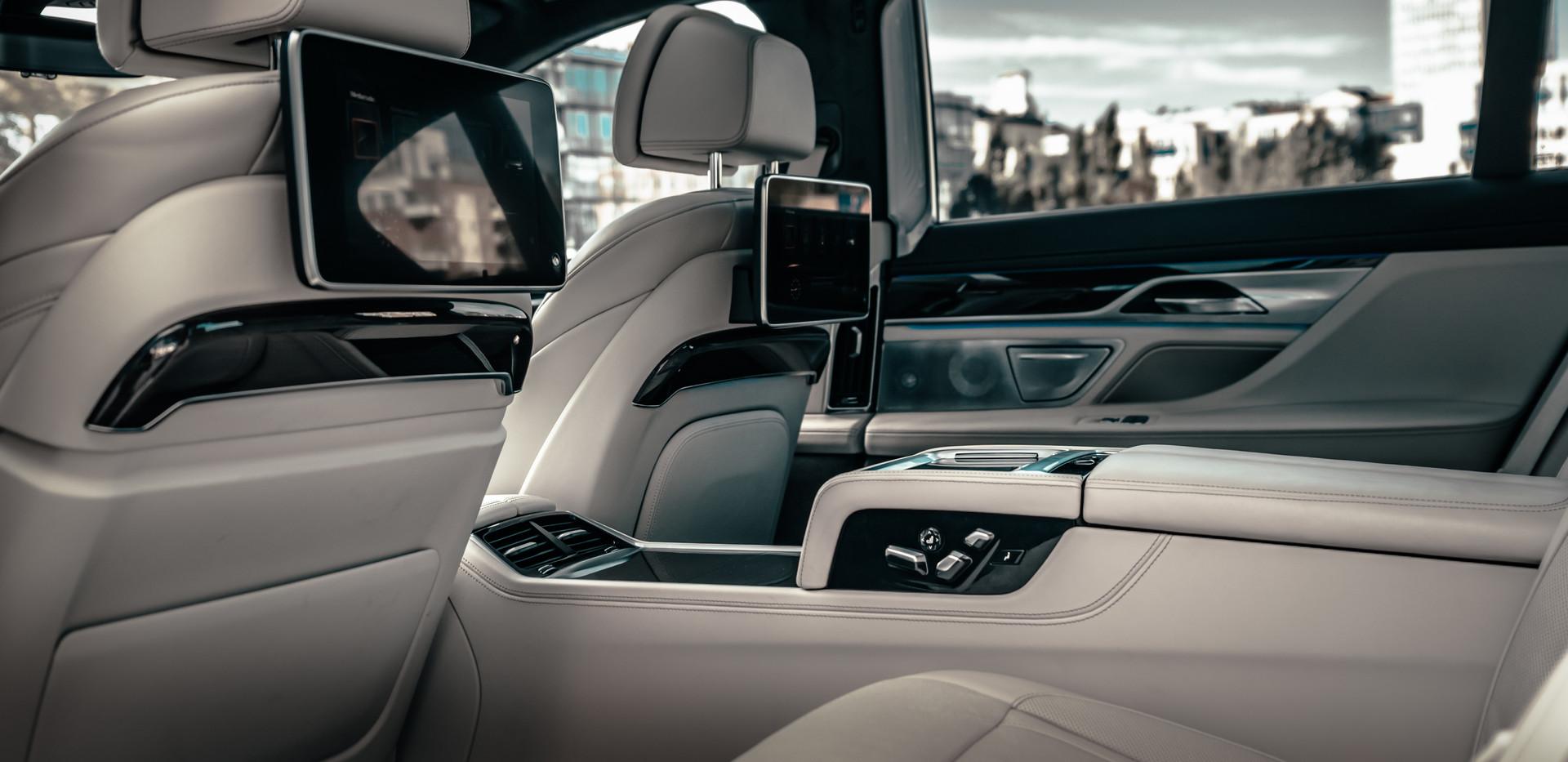 Private Chauffeur Mr Charles BMW 7 Li - Series