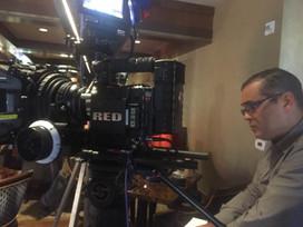 Danny Foxx on set one way films