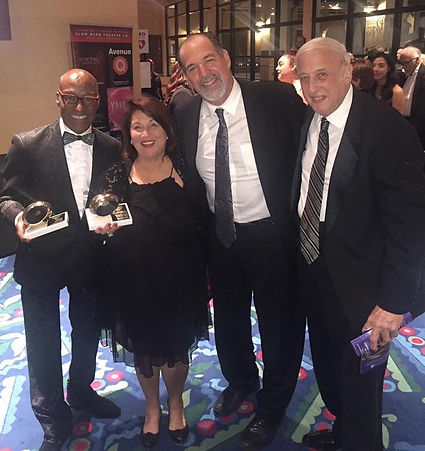 Ron after receiving Silver Palm award for West Side Story