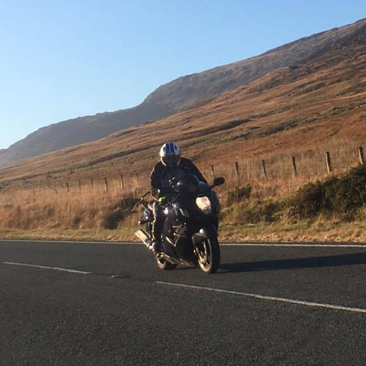 Paul K on his 'Busa'