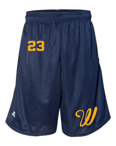 Adult Russell Athletic Pocketed Shorts