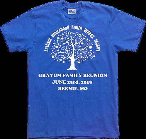 2018 Grayum Family Reunion T-Shirt