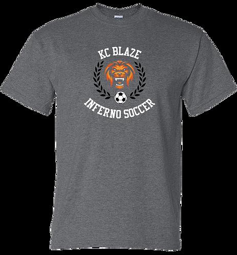 Gildan Cotton Adult T-Shirt (Dark Heather)