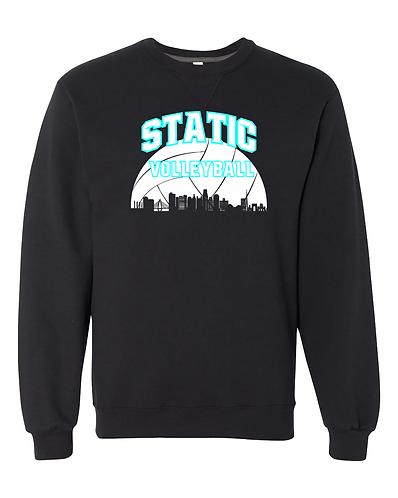Static Cityscape Sweatshirt