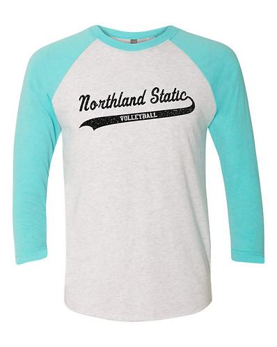 Black Glitter Northland Static Baseball