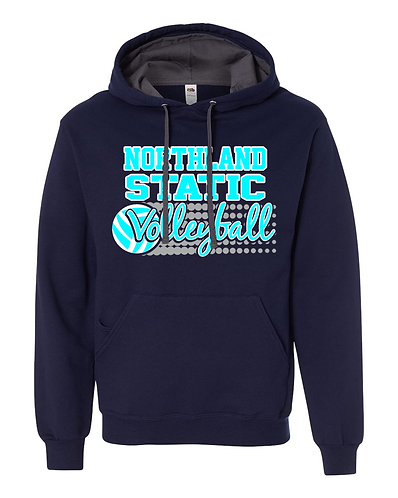 Static Volleyball Hoodie