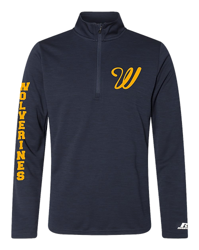 Wolverines Pullover- Russell Athletic