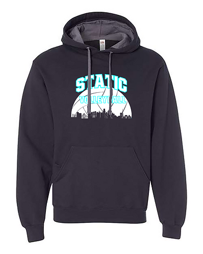 Static Cityscape Hoodie