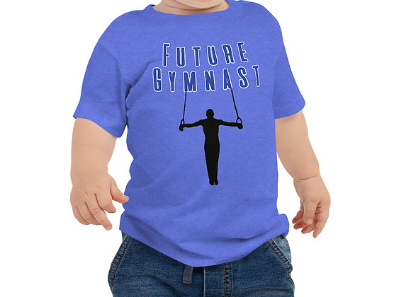 Future Gymnast Baby Boy Jersey Short Sleeve Tee