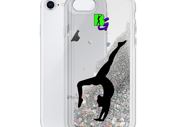 Liquid Glitter BG Phone Case
