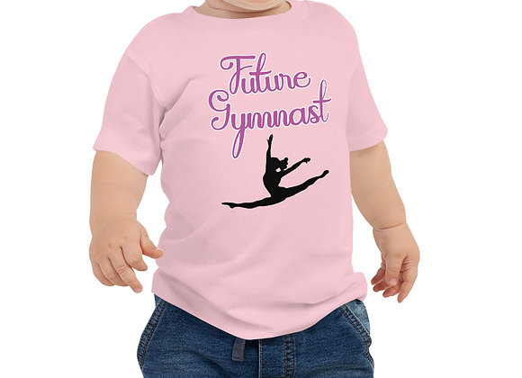 Future Gymnast Baby Girl Jersey Short Sleeve Tee