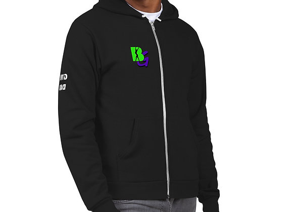 """Gym Dad"" BG zip-up sweatshirt"