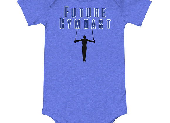 Future Gymnast Boys Onesie