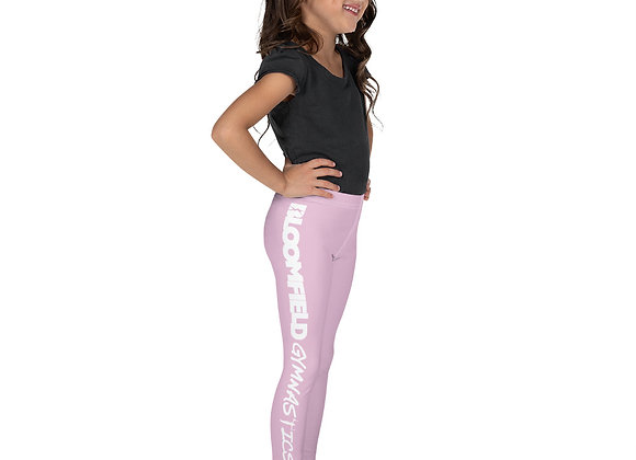 Kid's BG Leggings - Light Pink