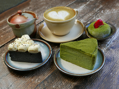 AFTERNOON TEA FOR ONE WITH SPARKLING SAKE - FIXED PRICE SINGLE USE VOUCHER - £24