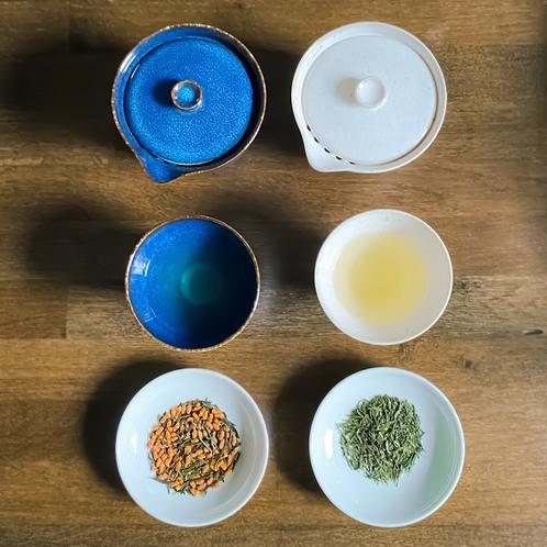 Virtual Tea Tasting (Join Group Session): Five Tea Bundle