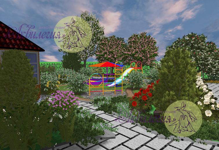 Ландшафтный проект 56778