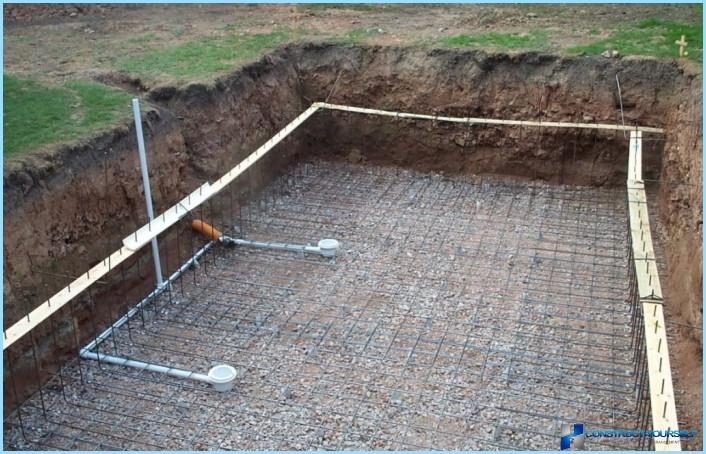 бетонирование чаши бассейна
