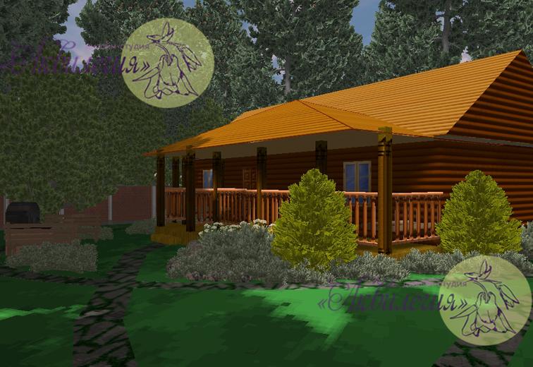 Ландшафтный проект 4577
