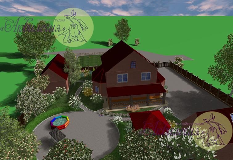 Ландшафтный проект 5676799-