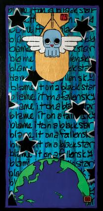blame-it-on-a-black-star-painting-stenci
