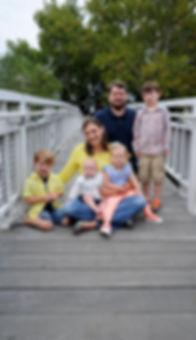 Photo of David Plotts' family