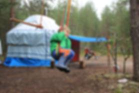 Отдых на природе с детьми