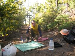 На Тенерифе с палаткой