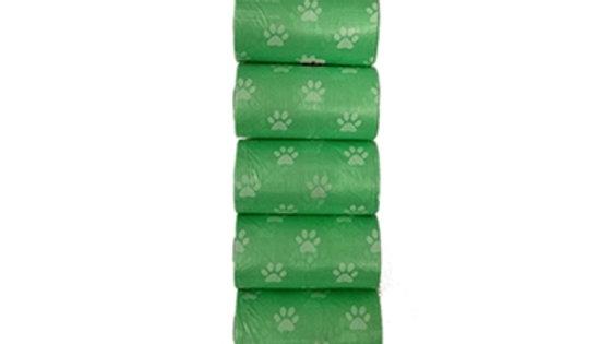 Green Dog Waste Bags 120pk.
