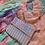 Thumbnail: Bikini Wristlet Striped