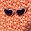 Thumbnail: Kids pink cat eye sunny