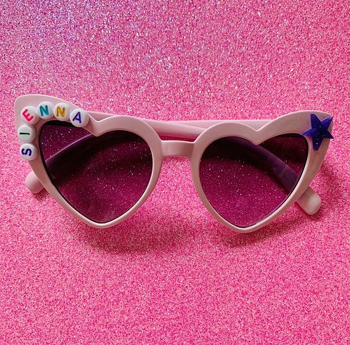 Custom Pink cat Eye