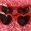Thumbnail: Mama & Mini heart cat eye set